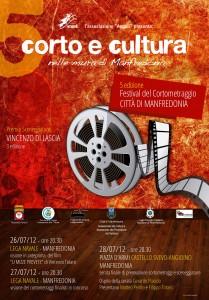 Manifesto  - 100x140 corto e Cultura  ed 2012