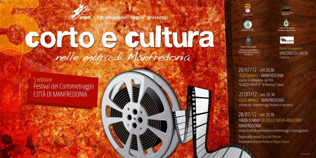 Manifesto  6x3  - Corto e Cultura 5 edizione 2012